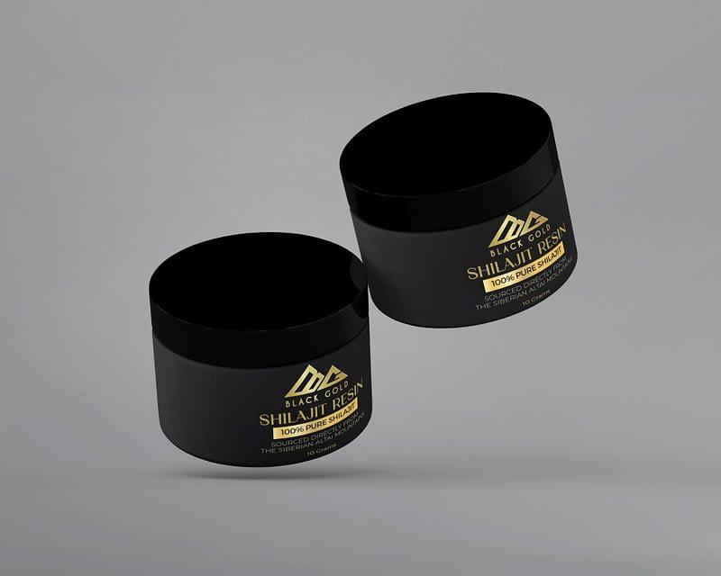 Shilajit product label